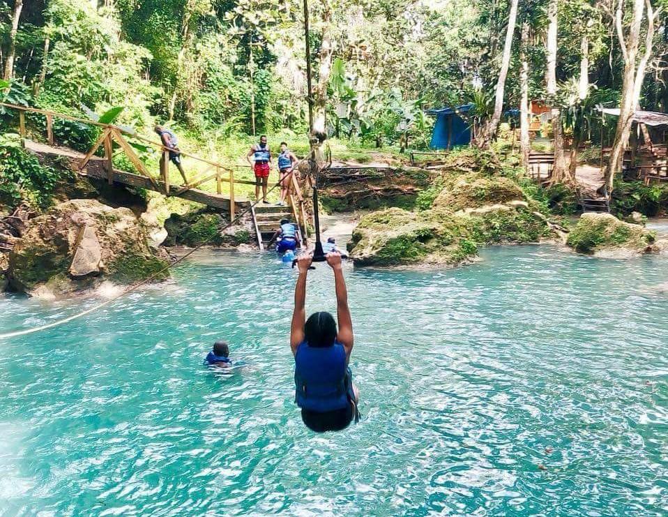 Blue Hole Mineral Spring Ocho Rios Jamaica
