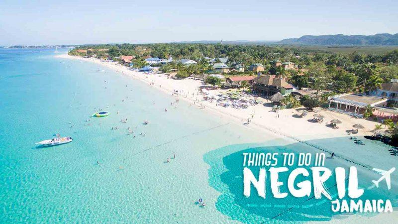 The Magic of Seven Mile Beach Negril Jamaica