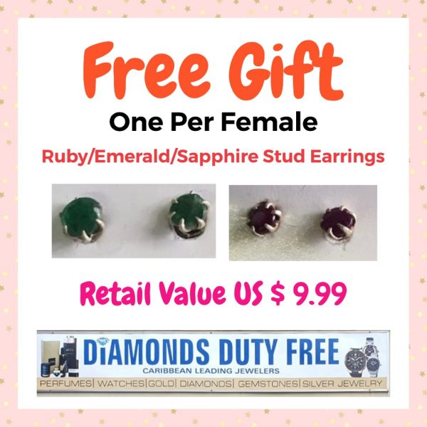 Diamind Duty Free Gift Certificate